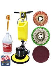 Jl 17premium Floor Polisher Machine With Tankbrushespad Holder630258 Asm17