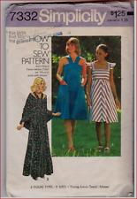 Vintage Simplicity 7332 Misses Sun Dress & Shawl Pattern Size 13/14