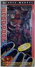"DEADPOOL Epic Marvel Classics 1/4 Scale 18"" inch Ultimate Figure #00 Neca 2016"