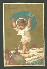 1880'S Trade Card R.G. Mary & Co. New York Un Demenagement