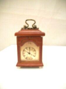 Working Mantle Clock 1.670/8  miniature dollhouse furniture 1/12 scale Reutter