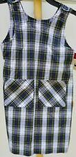 NWT Belmont Plaid G8 Dennis Uniform Plaid School Jumper, Adjustable Shoulder
