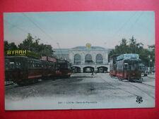 LYON  :  La Gare de Perrache......VO.1906.