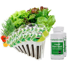 Salad Bar Gourmet and Tomato/Herb Seed Pot Kit AeroGarden 24 pod Can Use In Farm