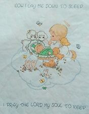 "Precious Moments Cross Stitch BABY'S ARRIVAL Quilt Kit 34"" X 43"" NIP"