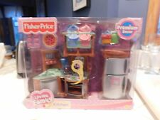 FISHER PRICE LOVING FAMILY DOLL HOUSE KITCHEN  RETIRED 2005