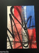 SABER - AWR MSK - FLAG HANDSTYLES  : SERIES ONE - 2012 SIGNED/NUMBERED HPM! RARE