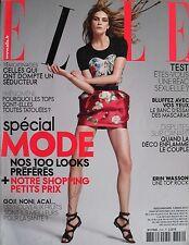 ERIN WASSON  Mars 2010 FRENCH ELLE Magazine LIYA KEBEDE  MELANIE LAURENT
