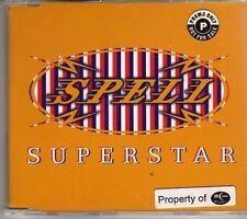 (AJ247) Spell, Superstar - 1995 DJ CD