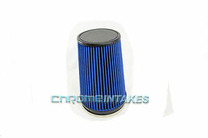 """BLUE 1990 UNIVERSAL 152mm 6"""" INCHES DIAMETER TRUCK DRY AIR INTAKE FILTER"""
