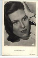 ANNA DAMMANN Schauspielerin ca. 1950/60 Porträt-AK Film Bühne Theater Postkarte