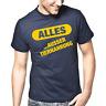 ALLES Ausser Tiernahrung Satire Sprüche Geschenk Lustig Spaß Comedy Fun T-Shirt