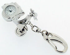 Scooter Novelty Miniature Clock Keyring