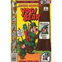 Yogi Bear (1977 series) #9 in Very Good + condition. Marvel comics [*2c]