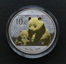 Panda 2012 -  silver gilded