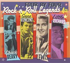 Rock 'n' Roll Legends - Chuck Berry Gene Vincent Little Richard - 4CD Box Set