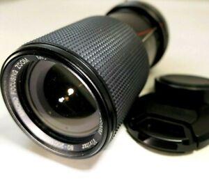 Vivitar 80-200mm f4.0 manual focus for Pentax KA KR A mount Telephoto zoom f4