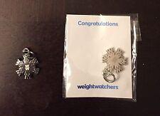"Weight Watchers ""WW"" Snowflake Charm, Buy 3 Get $5 Off!! R6304"
