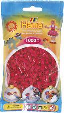 Hama 1000 Midi Bügelperlen 207-29 Violettrot Ø 5 mm Perlen Steckperlen Beads