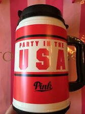 Victorias Secret PINK American Chug Mug Red White Party In The USA water Cup NEW