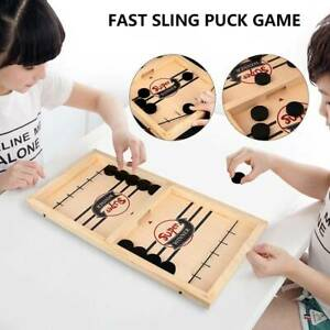 Fast Sling Puck Game Paced Winner Board Family Puzzle Juego Kid Toy party56*30*3