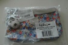KIPLING Creativity XL Pouch /Wristlet /Cosmetic Bag  AC7376 Funny Fields