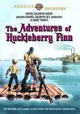 THE ADVENTURES OF HUCKLEBERRY FINN (1960) - Region Free DVD - Sealed
