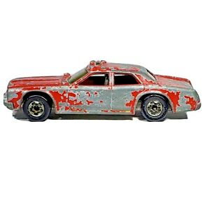 HOT WHEELS Fire Chaser Red Car Diecast Dodge Monaco Chief 1979 Hong Kong Loose
