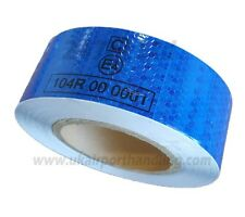 EC 104 -R BLUE REFLECTIVE CONSPICUITY TAPE 50mm x 50 METERS