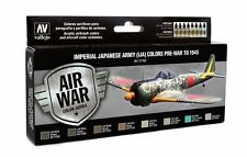 Japanese Army Aircraft Pre-War to 1945: 8 Airbrush Paints (Vallejo 71152)