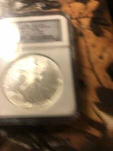 1994  U.S.America Silver Eagle Dollar $1 NGC MS68 1oz Silver 20TH Anniversary