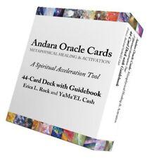 Andara Crystal Oracle Cards LIMITED EDITION 44 Card Andara Deck Plus Guidebook