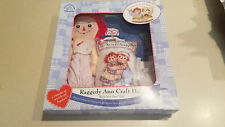 "Hasbro `Applause Raggedy Ann & Andy Craft Doll ""Build Your Own"" Doll (NEW)"