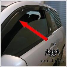Deflettori Aria Antiturbo Oscurati Lancia Y Ypsilon 2003 -2010
