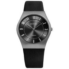Bering Runde Quarz-(Batterie) Armbanduhren für Herren