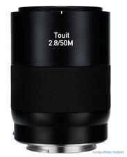 Zeiss Touit 2.8/50m Sony e Mount Nex sistema macro macro productos nuevos desde el distribuidor