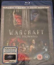 Warcraft: The Beginning (Blu-ray 3D + Blu-ray + Digital Download)... - DVD  BGVG