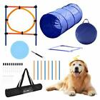 YON.SOU. Dog Agility Training Equipment Set Obstacle Course Training Kit (with D