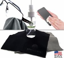 3 in 1 Professional Cleaner for Eyeglasses and Camera lenses - Made in the USA