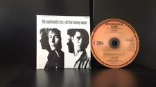 The Psychedelic Furs - All That Money Wants 4 Track CD Single