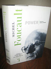 1st Edition POWER Michel Foucault LECTURES Philosophy FIRST PRINTING CLASSIC V3