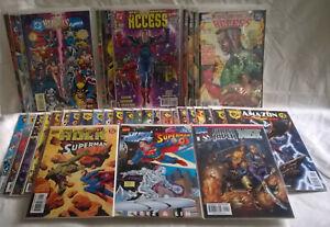 Marvel vs. DC: Ultimate Crossover Comic Book Lot   NM   Amalgam, Versus, Access
