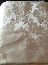 John Lewis Alto Damask Fabric Silver Rrp £12 Per Metree
