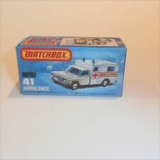 Matchbox Superfast Diecast Ambulances