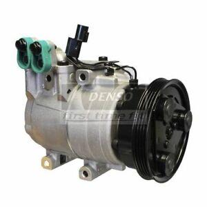 DENSO 471-6008 Compressor w/ Clutch For 00-02 Hyundai Accent