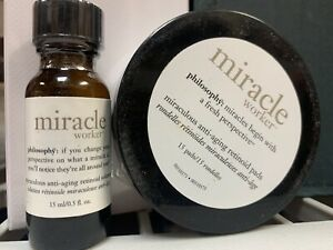 Philosophy Miracle Worker Miraculous Anti-Aging Retinoid Solution + 15 Pads