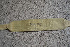 British army ww2 1937 pattern webbing brace cross strap 37