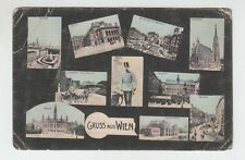 "[63803] OLD POSTCARD ""GRUSS AUS WIEN"" (""GREETING FROM VIENNA"")"