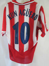 Atletico Madrid 2005-2006 Kun Aguero  Football Shirt Size Small /34814