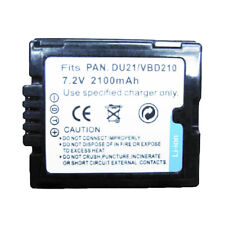 CGA-DU21 VW-VBD210 2100mAh Battery for PANASONIC NV-GS70 NV-GS75 NV-GS80 NV-GS85